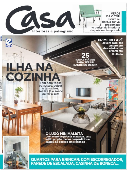 Revista Casa Interiores e Paisagismo - Jan. 2020